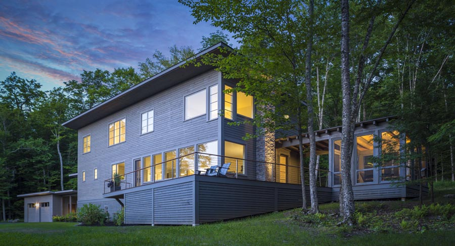 Two energy efficient vermont homes sisler builders blog for Home builders in vermont