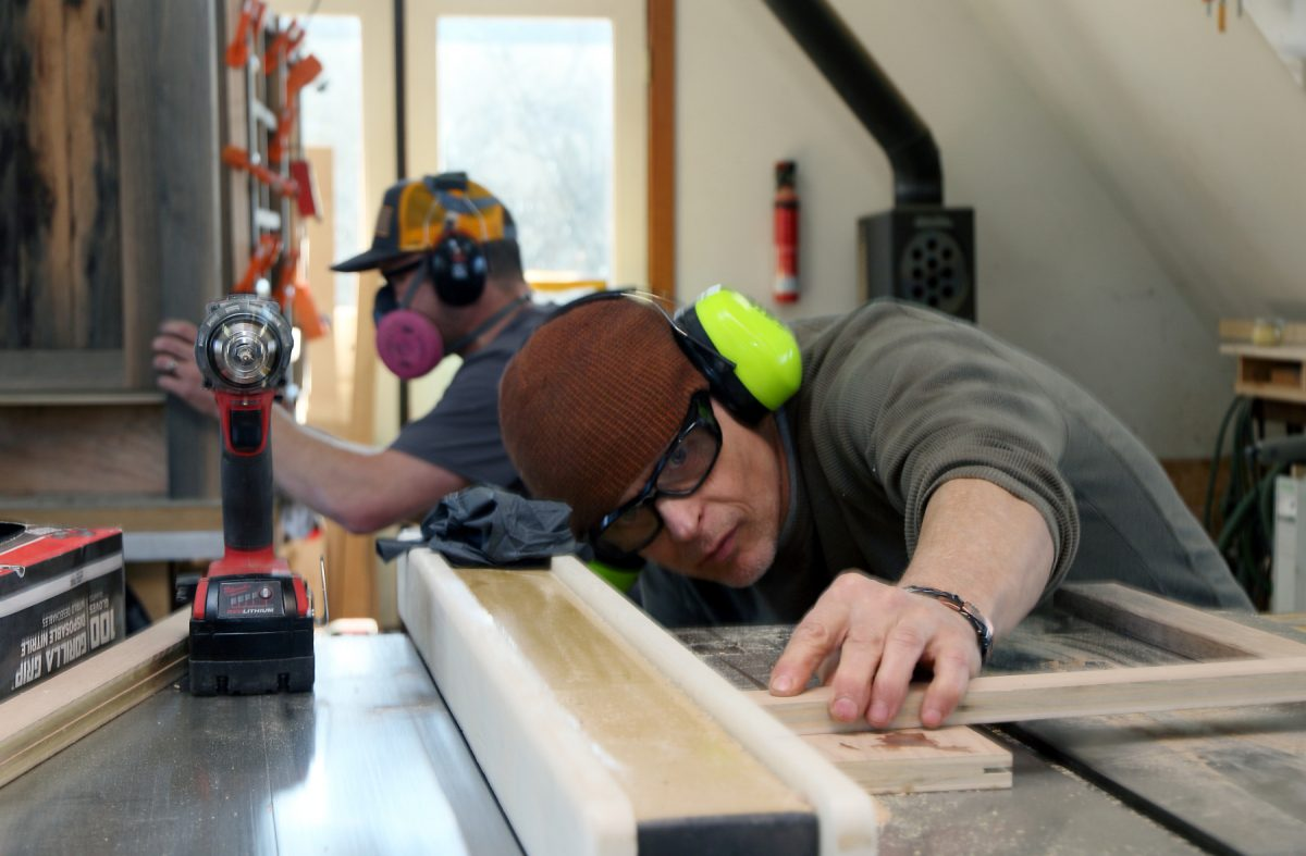 Meet Sisler Builders' Custom Woodworking Division